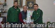 Akhisar Yeşil Siyah Taraftarlar Derneği' inden Gazeteciler Günü Ziyareti !