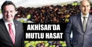 AKHİSAR'DA MUTLU HASAT