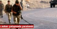 Akhisarlı asker çatışmada yaralandı