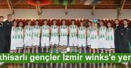 Akhisarlı gençler İzmir winks'e yenildi