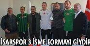 Akhisarspor 3 İsme Formayı Giydirdi !