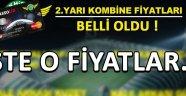 Akhisarspor'da Kombine Fiyatları Belli Oldu !