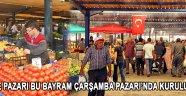 Arefe Pazarı Bu Bayram Çarşamba Pazarı'nda Kuruluyor