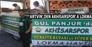 Artvin' den Akhisarspor' a Lokma Hayrı