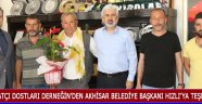 Atçı Dostları Derneğin'den Akhisar Belediye Başkanı Hızlı'ya Teşekkür !