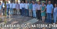 ATSO'dan Bakırlıoğlu'na Tebrik Ziyareti !