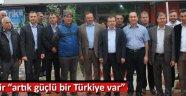 """Aydemir """"artık güçlü bir Türkiye var"""""""