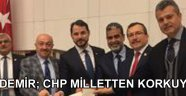 Aydemir; CHP Milleten Korkuyor