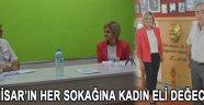 """Aynur Üngün """"Akhisar'ın Her Sokağına Kadın Eli Değecek! """""""