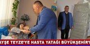 Ayşe Teyze'ye Hasta Yatağı Büyükşehir'den