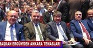 Başkan Ergün'den Ankara Temasları