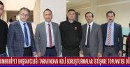 Cumhuriyet Başsavcılığı Tarafından Adli Soruşturmalar İstişare Toplantısı Düzenlendi
