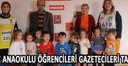Deniz Anaokulu Öğrencileri Gazetecileri Tanıdı !