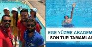Ege Yüzme Akademi'de son tur tamamlandı