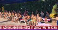 Ege Yüzme Akademisinde Ağustos Ayı Üçüncü Turu Tüm Hızınla Başladı