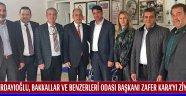 Erdayıoğlu, Bakkallar ve Benzerleri Odası Başkanı Zafer KARA'yı Ziyaret Etti