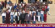 Farabi Sağlık Meslek Öğrencileri Hacettepe'de