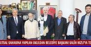 Futsal Sahasına Yapılan Okuldan Belediye Başkanı Salih Hızlı'ya Teşekkür