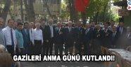 Gazileri Anma Günü yapılan tören ile kutlandı.