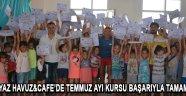 Gülbeyaz Havuz&Cafe'de Temmuz Ayı Kursu Başarıyla Tamamlandı !