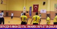 Hüseyin Çeçen ve Armağan Özeş Futsal turnuvasında 3 grupta üst tura çıkanlar belli oldu