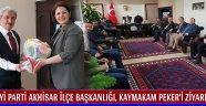 İYİ Parti Akhisar İlçe Başkanlığı, Kaymakam PEKER'i Ziyaret Etti