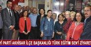 İyi Parti Akhisar İlçe Başkanlığı Türk Eğitim Sen'i Ziyaret Etti !