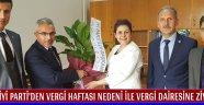 İYİ Parti'den Vergi Haftası Nedeni İle Vergi Dairesine Ziyaret !