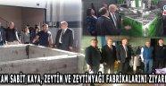 Kaymakam Sabit KAYA, zeytin ve zeytinyağı fabrikalarını ziyaret etti!