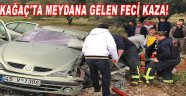 Kirkağaç'ta Meydana Gelen Feci Kaza!
