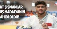 Manisa Büyükşehir'in Şampiyon Judocusu Mert Şişmanlar Avrupa 2. Oldu !
