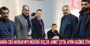 Manisa Celal Bayar Üniversitesi Akhisar Meslek Yüksekokulu Müdürü Doç.Dr. Ahmet Çetin, Afrin Gazimizi Ziyaret Etti