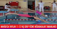 Manisa'da Yapılan 11-12 Yaş Grup Yüzme Müsabakaları Tamamlandı.