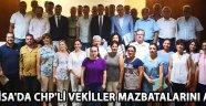 Manisa'da Chp'li Vekiller Mazbatalarını Aldı !