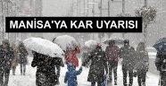 Manisa'ya Kar Uyarısı