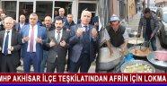 Mhp Akhisar İlçe Teşkilatından Afrin İçin Lokma Hayrı