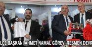 MHP İlçe Başkanı Ahmet Namal Görevi Resmen Devraldı