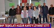 Mhp Teşkilatı Huzur Kafe'yi Ziyaret Etti