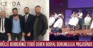 Ödüllü Berberimiz Ferdi Deren Sosyal Sorumluluk Projesinde Yer Aldı