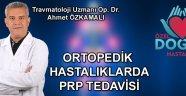 Ortopedik Hastalıklarda Prp Tedavisi