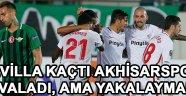 Sevilla Kaçtı Akhisarspor Kovaladı, Ama Yakalaymadı !
