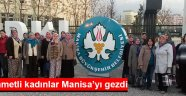 Seyidahmetli kadınlar Manisa'yı gezdi