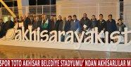 Spor Toto Akhisar Belediye Stadyumu'ndan Akhisarlılar Memnun