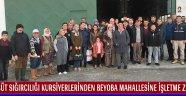 Süt Sığırcılığı Kursiyerlerinden Beyoba Mahallesine İşletme Ziyareti