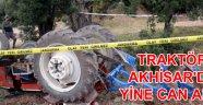 Traktör Akhisar'da bir can daha aldı