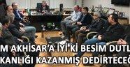 """""""Tüm Akhisar'a iyi ki Besim Dutlulu başkanlığı kazanmış dedirteceğiz."""""""
