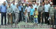 Uğur Aydemir, Demirci'yi ziyaret etti !