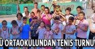 Ülkü Ortaokulundan Tenis Turnuvası