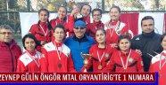 Zeynep Gülin Öngör Mtal Oryantirig'te 1 Numara