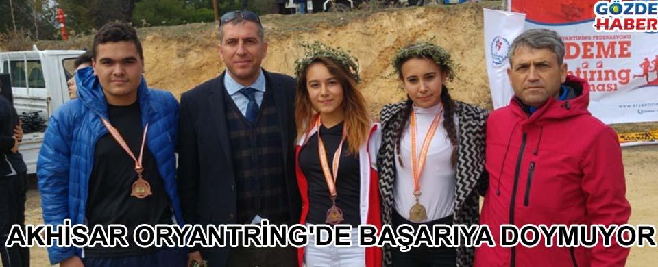 Akhisar Oryantring'de Başarıya Doymuyor